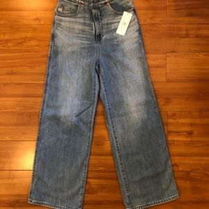 AG Etta High Waist Wide Leg Crop - size 25 (NWT)